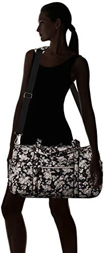 Vera Bradley Women's Signature Cotton Medium Travel Duffle Bag
