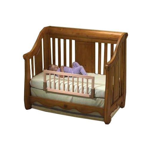 Amazon Com Kidco Convertible Crib Bed Rail Finish Natural