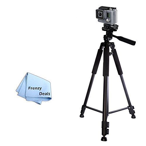 "60"" Inch Camera Tripod for ALL GoPro HERO Cameras & Camcor"