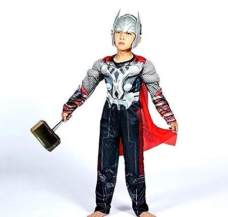 Lovelegis Disfraz de Thor para niños - superhéroe y máscara ...