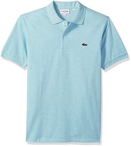 Lacoste Mens Classic Chine Pique Polo Shirt, STELLARIS, Large