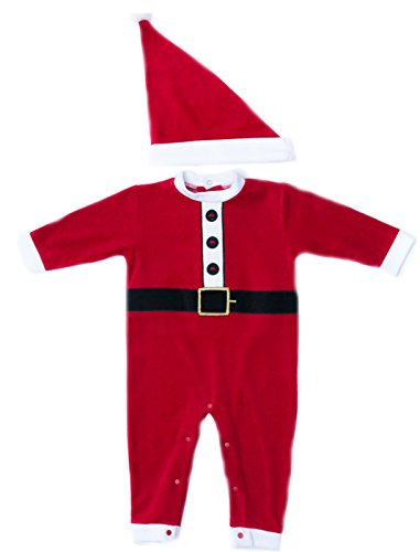 Just Love 3803-12M Baby Coveralls Santa 12 -