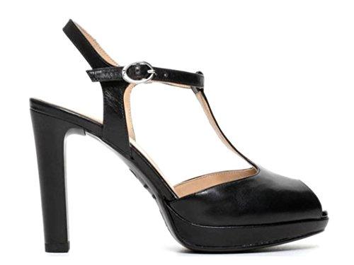 Femme Noir Pour Sandales Nero Giardini wqx604