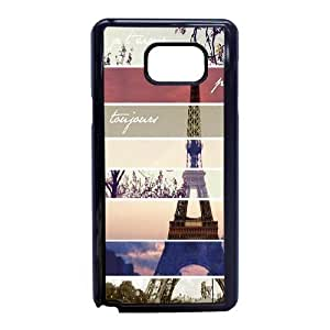 Plastic Durable Cover Samsung Galaxy Note 5 Cell Phone Case Black Ijgmd Paris Eiffel Tower Durable Phone Case