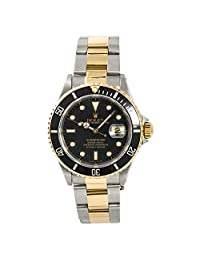 Rolex Submariner Automatic-self-Wind Male Watch 16613 (Certified Pre-Owned)