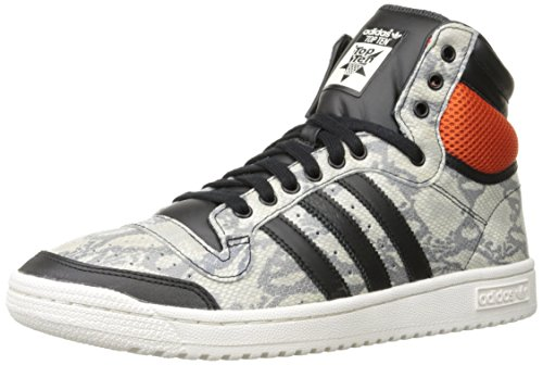 Adidas Top 10 Hi Slange Menns Basketball Sko Grå