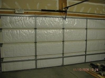 NASA Tech White Reflective Foam Core Garage Door Insulation Kit 9L x 7H (Foam Tech Insulation)