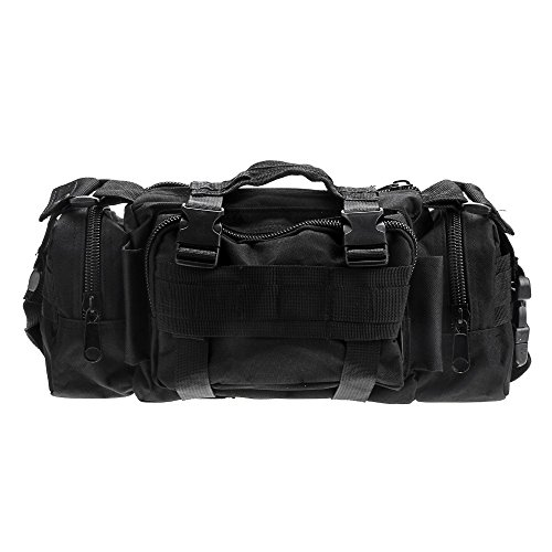 Tactical Hunting Tackle Bag Molle Utility Waist Single Shoulder Backpack Bag Pack Outdoor Sports Bag Mountaineering Bag by LIVIQILY (Image #8)