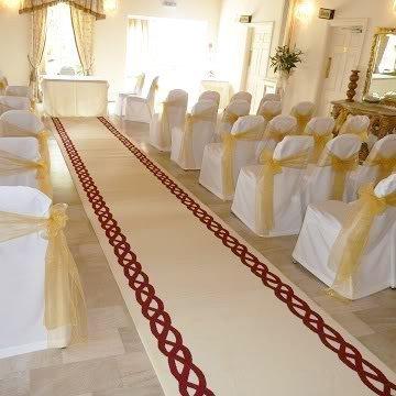 Rope Cream - Wedding Aisle Carpet Runner Carpet Runners UK