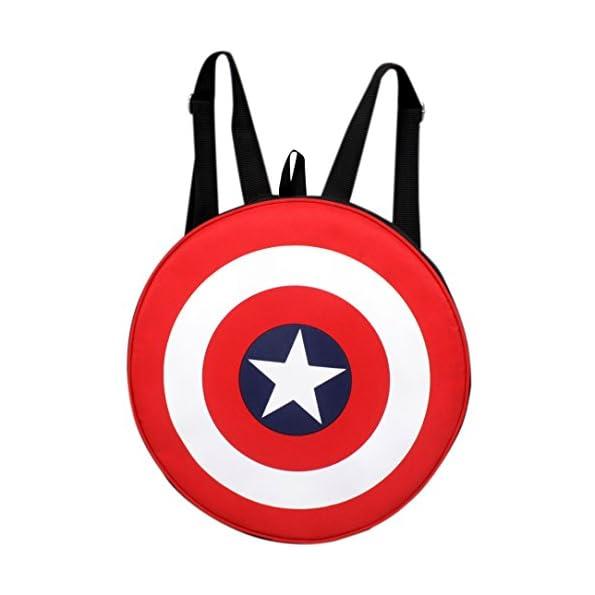 Avengers Captain America Shield School Backpack
