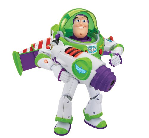 Lightyear Buzz Puzzle (Talking Figures Power Projector Buzz Lightyear)
