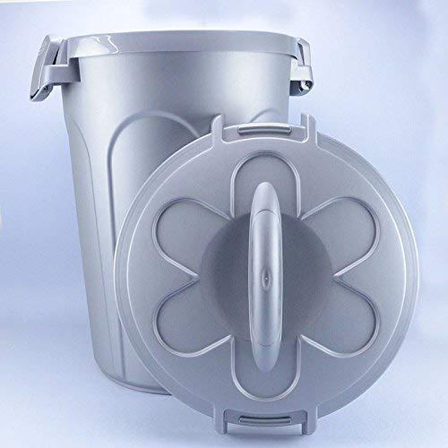 46 l 16/kg Stefanplast Contenedor de comida Tom gris 44,5 x 40 x 61/cm
