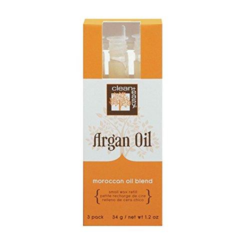 C+E Argan Oil Wax Refills, Small (face) Argan Oil Wa