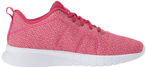 Reebok Mujer Instalite Pro Sneaker Overtly Pink / Squad Pink / White