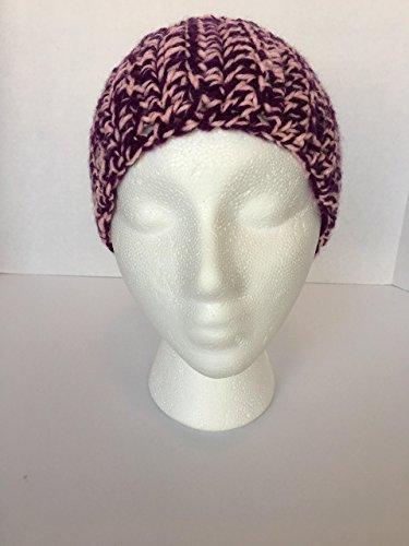 New, Handmade Crocheted, Purple and Pink, Women