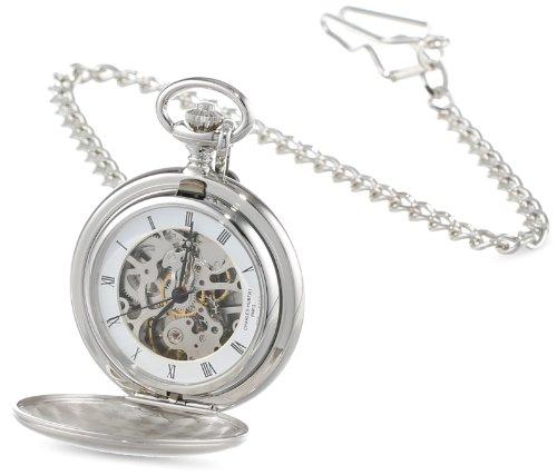 Charles-Hubert-Paris-Satin-Finish-Mechanical-Pocket-Watch