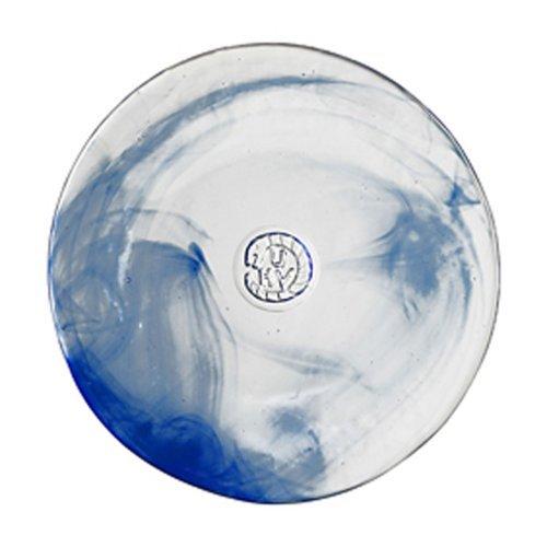 Serpent Bowl - Kosta Boda Mine, Plate Blue