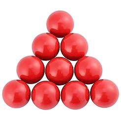 COMOK Ball Handle Knob M8 Threaded Red B...