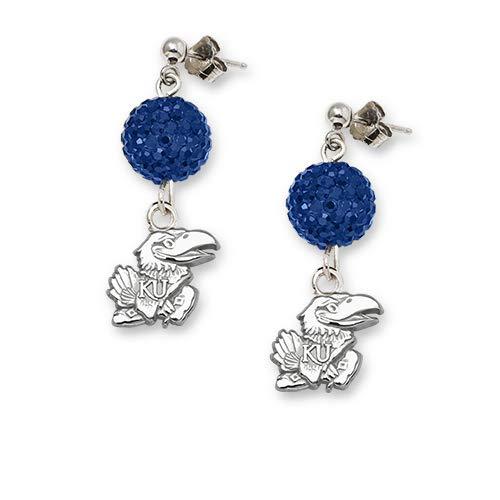 NCAA Kansas Jayhawks LogoArt Ovation Earrings