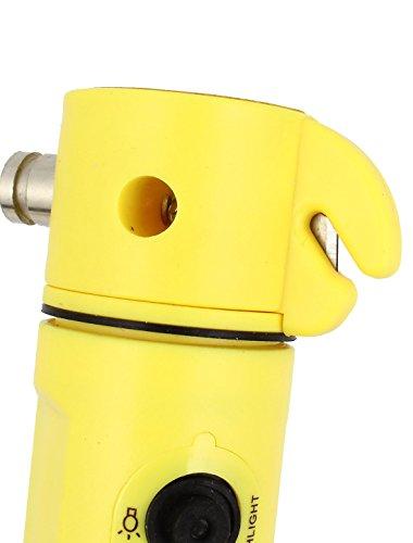 uxcell LED Flashlight Window Break Hammer Belt Cutter by uxcell (Image #1)