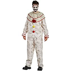 American Horror Story Men's Twisty The Clown Costume - L