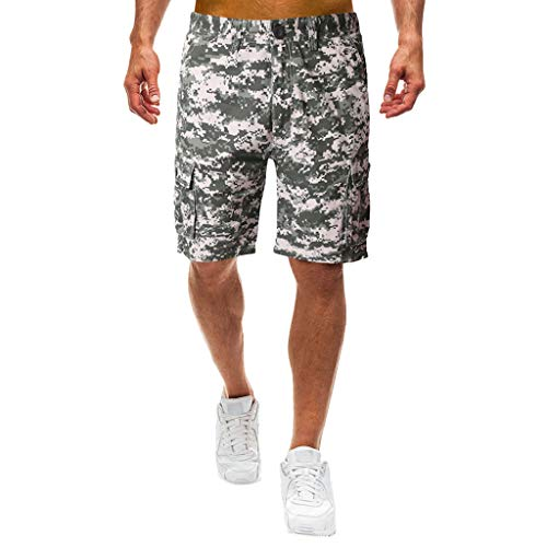 Willow S Men's Casual Camouflage Outdoors Pocket Beach Work Trouser Cargo Shorts Pant Hiking Bodybuilding