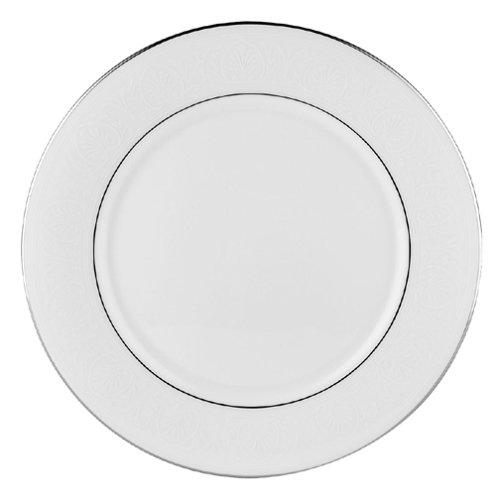 Floral Elegance Platinum Dinner Plate - Lenox Hannah Platinum Bone China Dinner Plate