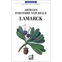LAMARCK articles d'histoi