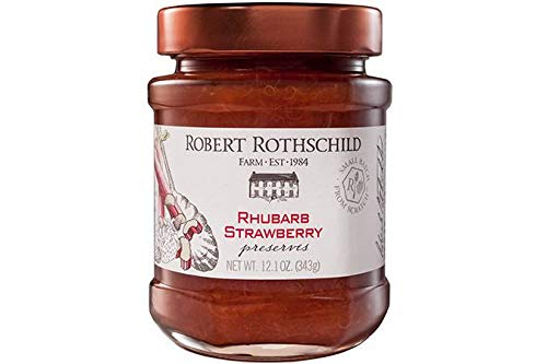 Robert Rothschild Farm Rhubarb Strawberry Preserves 1 Jar- 12.1 oz. net wt.