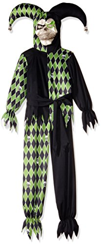 Kids Evil Jester Costume - California Costumes Jokes On You! Child
