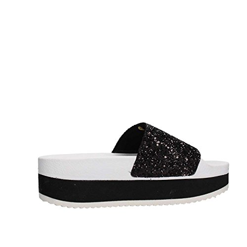 Femme Brand The White Pour Noir Mules 5Zg0p0Iqw