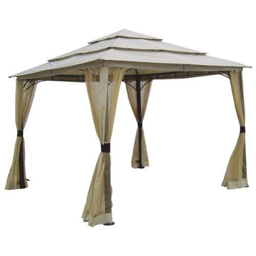 Garden Winds La Quinta Triple Tier Gazebo Replacement Canopy - RipLock 350