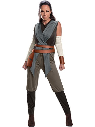 Rey Star Wars Costume Womens (Rubie's Costume Co. Men's Adult Star Wars: Episode VIII Foxtrot 1 (grey) Costume,As/Shown,Large)