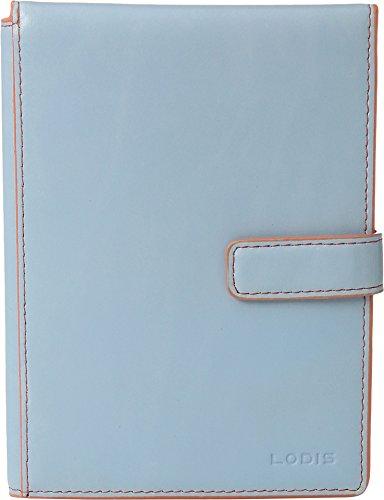 Full Flap Pocket Wallet (Lodis Accessories Women's Audrey Passport Wallet w/ Ticket Flap Blue/Tangerine One Size)