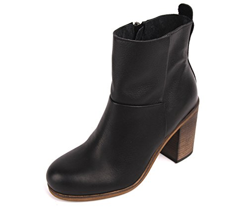 haghe by HUB Stiefellete Ankle Boots Mallet black / natural