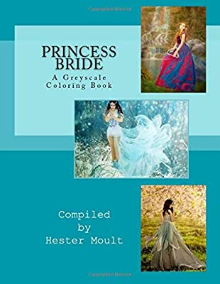 Princess Bride A Greyscale Coloring Book Hester Moult