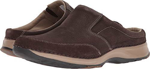 Rockport Men's RocSports Lite Five Clog Shoe, dark bitter chocolate, 9.5 M US by Rockport