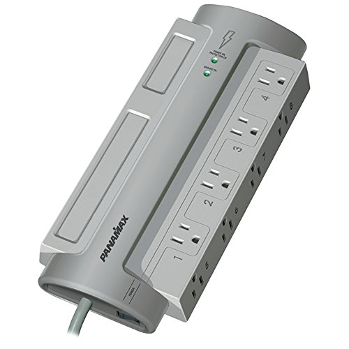 PANAMAX PM8-EX 8-Outlet PowerMax(R) PM8-EX Surge Protector (Without Satellite & CATV Protection) Consumer electronic