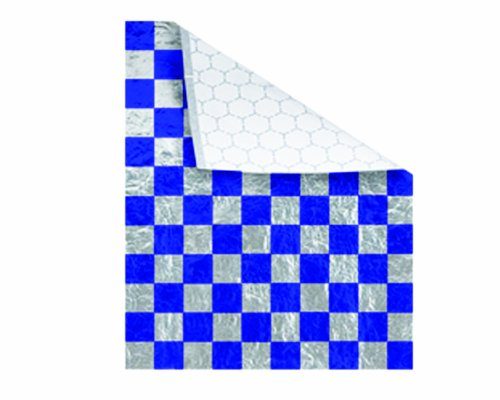 (Bagcraft Papercon 300829 Foil/Paper Honeycomb Insulated Wrap, 13