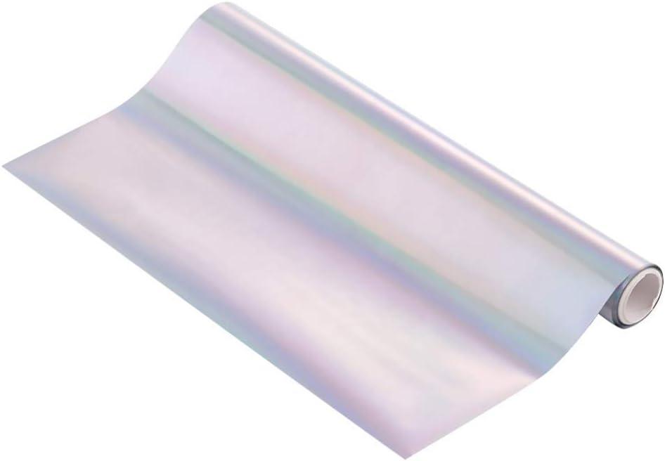 5Ppcs Glimmer Hot Foil Metallic Variety 5 Pack Multi Color 19Cmx5 Meters Fiver Rollers Hot Stamping FoilGold Foil,Foil by Laser Printer and Laminator Toner Reactive Foil for Scrapbooking Paper Crafts