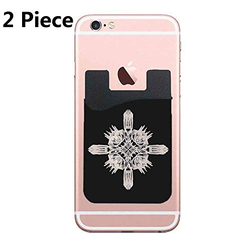 TysoOLDPhoneC Ancient Royal Calaabachti Urn Cell Phone Stick On Wallet Card Holder Phone Pocket for All Smartphones - 2 - Ancient Urn