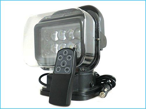 Faro led supplementare 12v 50w motorizzato con telecomando magnetico