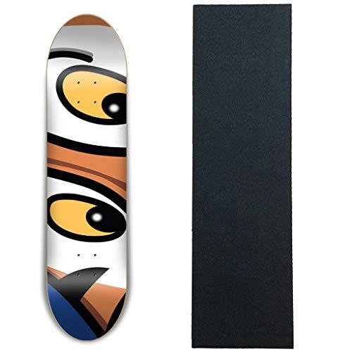 ペース地下鉄取り出すShorty's スケートボードデッキ タイガーシリアル8.25インチ グリップ付き