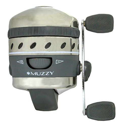Muzzy Bowfishing 1077XD Pro Spin Style Reel with 150# Line Installed - Salt Water Rated