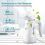 Homitt Handheld Clothes Steamer, Travel Handheld