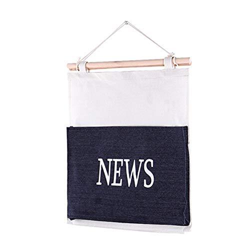 Vêtements gris Affiches 35cm Size Suspendre Poche De Bleu Foncé Pour Format Sac Journaux 39 Chaussures Rangement À Grand Laat Jouets cWvTpAa4B
