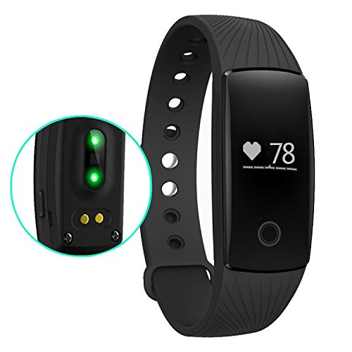 Heart Rate Monitor 007plus Bluetooth 40 Fitness Tracker Pedometers Sleep Monitor Activity Trackers For Android Ios Smartphone