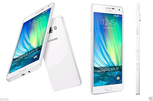 Samsung Galaxy A7 A7000 16GB Factory Unlocked - International Version GSM Phone (White)