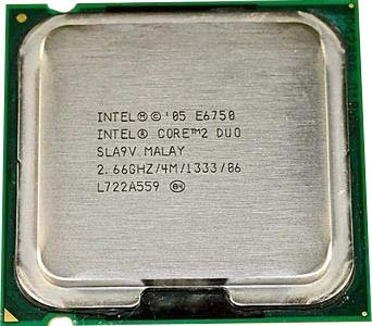 intel core 2 duo e6750 - 5