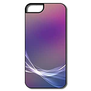 IPhone 5/5S Cases, Aero Colorful Purple White/black Protector For IPhone 5S